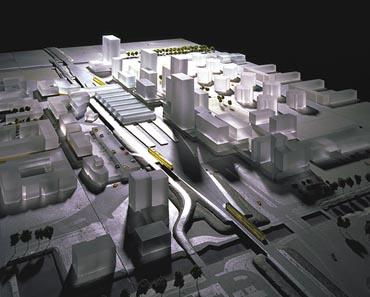 Centraal Station met Kantoren
