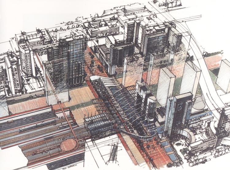 Station Zuid/WTC ondergronds